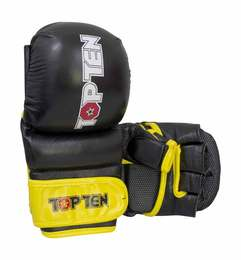 Striking Glove TopTen MMA Thumb Guard, Schwarz-Gelb