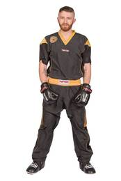 Kickboxuniform TopTen Star Edition, Schwarz-Gold