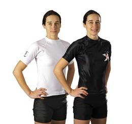 Rash Guard kurzarm Under-Gi speziell für Damen