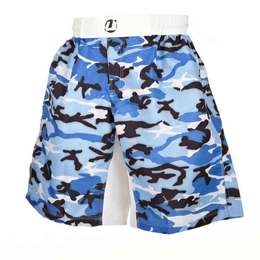 Fight Short weit Camouflage