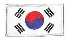Patch Korea klein