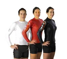 Rash Guard langarm Under-Gi speziell für Damen
