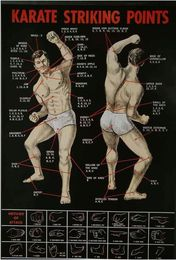 Poster Karate - Striking Points