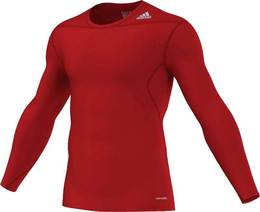 Techfit Base Longsleeve university-red