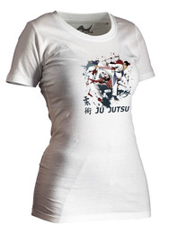 Lady Ju-Jutsu-Shirt Competition weiß