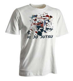 Ju-Jutsu-Shirt Competition weiß