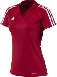 T12 Team ClimaCool Polo Damen, Rot