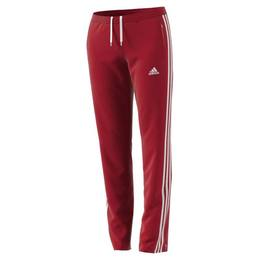 T16 Team Sweat Hose Damen AJ5392, Rot-Weiß