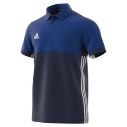 T16 Clima Cool Polo Männer AJ5482, Navy Blau-Royal Blau