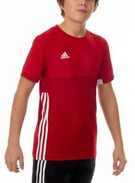 T16 ClimaCool T-Shirt Jungen AJ5434, Power Rot-Scarlet Rot