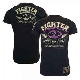 NBP T-Shirt Fighter, navy/lila