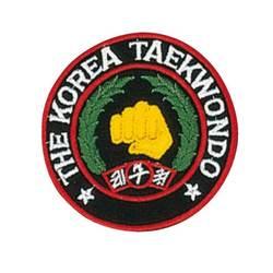 Stickabzeichen Korea Taekwondo