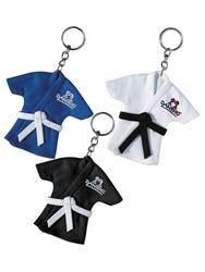 Schlüsselanhänger Minijacke Judo