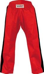 Hose Freestyle rot-Streifen schwarz