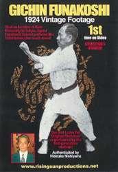DVD Gichin Funakoshi 1924 Vintage Footage