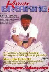 Karate Breaking Mike Reeves