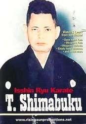 Isshin Ryu Karate Tatsuo Shimabuku