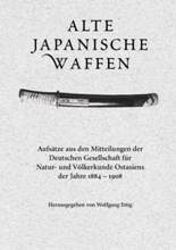 Alte japanische Waffen