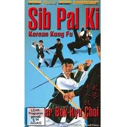 DVD Sib Pal Ki. Korean Kung Fu