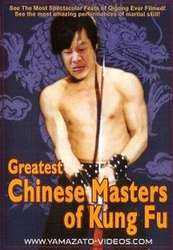 Great Chinese Masters of Kung Fu