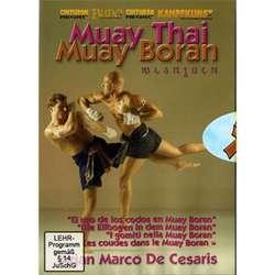 DVD De Cesaris-Muay Thai-Die Ellbogen Im Muay Boran