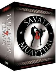 Muay Thai & Savate DVD Geschenk-Set