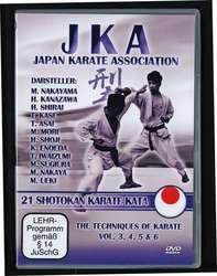 JKA Karate 21 Shotokan Katas