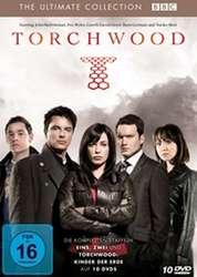 Torchwood - Boxset: Staffeln 1 + 2 + Kinder der Erde (10 DVDs)