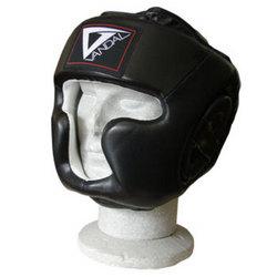 Kopfschutz Vandal SW Leder mit Jochbein- und Kinnschutz - CE