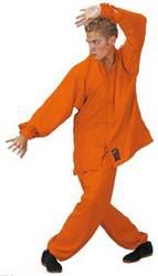 Tai-Chi Anzug orange