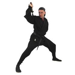Ninja-Anzug, Schwarz