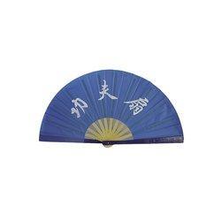 Tai-Chi Fächer Blau
