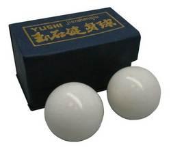 Qigongkugel weiß