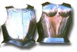 Brustpanzer aus Metall