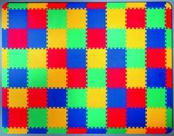 Puzzlematte ohne Motiv 80 Teile mit Rand