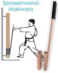 Sprossenwand-Makiwara 26 mm