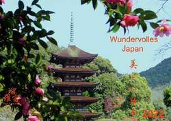Wandkalender 2018 - Wundervolles Japan (Utsukushii Nihon) groß