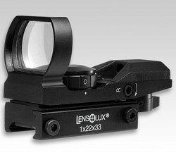 LensOlux Red Dot - inkl. Batterie