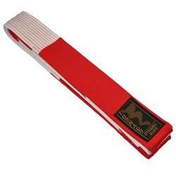 Budogürtel rot-weiss, 5 cm breit