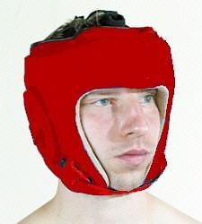 Kopfschutz rot