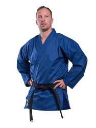 Karate-Jacke in blau