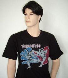 T-shirt mit TAEKWONDO-MOTIV Bedruckung