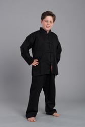 Shaolin II - Kung Fu Anzug - schwarz
