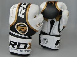 Leder Boxhandschuh, Pro Gold