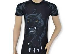 Rashguard Kurzarm T-Shirt Panther