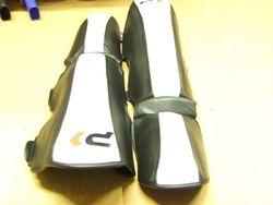 Schienbein-Spannschutz FIGHT Leder