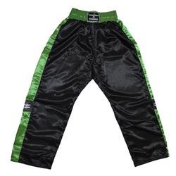 Satinhose TOPFIGHT, schwarz-grün