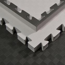 SV Steckmatte 4 cm dick in grau-schwarz