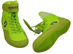 Schuhe in neon für Boxen und MMA