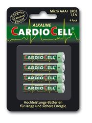 CARDIOCELL Batterie Micro AAA